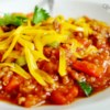 Quinoa Chili Recipe - Quinoa and corn kernels add even more body to this black been and beef chili.