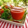Ruby French Dressing Recipe - This tangy French dressing is made with ketchup, olive oil, onion, lemon juice, and a few seasonings. It's easy to keep a batch in the refrigerator ready for your favorite salad.