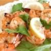 Garlicky Appetizer Shrimp Scampi Recipe - Quick, delicious grilled shrimp in a garlicky olive oil-butter sauce.