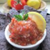 Salsa II Recipe - This is a very good salsa recipe. Simple ingredients are boiled and blended to created a flavorful, spicy mixture that's great with tortilla chips and on Mexican-style foods. The amounts of onions and jalapenos may be varied; canned crushed tomatoes may be substituted for fresh.
