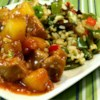 Sweet and Sour Pork Tenderloin Recipe and Video - Chef John's sweet and sour pork tenderloin with pineapple and green onions is a lighter version of the Chinese take-out classic.