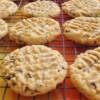 Peanut Butter Chocolate Chip Cookies II Recipe - Peanut butter and chocolate chip cookies made with natural peanut butter and kosher salt.
