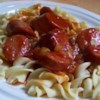 Sweet and Sour Kielbasa Recipe - A sweet and sour sauce based on ketchup and brown sugar becomes a tempting marinade for plump kielbasa sausage.
