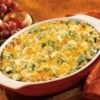 Turkey Stuffing Divan Recipe - Pepperidge Farm(R) Herb Seasoned Stuffing is topped with turkey, broccoli and a sauce made with Campbell's(R) Condensed Cream of Celery Soup and Cheddar cheese, then baked until hot.