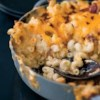 Cheddar-Bacon Mac and Cheese Recipe - Creamy, cheesy, and quick . . . it's everything you need.