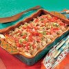Campbell's Kitchen Creamy Chicken Enchiladas Recipe - A creamy filling of chicken, sour cream, and cheese gets an added 'kick' stirred into it with Pace(R) Picante Sauce. Rolled up in tortillas and baked until bubbly, these enchiladas couldn't be easier or any more delicious.