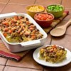 Mexican Potato Sausage Casserole Recipe - Our Southwest Hash Browns and spicy sausage give this hearty egg bake real Mexican flavor. It makes a great brunch dish or easy dinner.