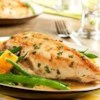 Golden Chicken and Autumn Vegetables Recipe - Savory herbal flavors of rosemary and thyme infuse Swanson(R) Stock, succulent chicken and tender vegetables in this delectable version of a classic French homey favorite.