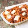 Cheesy Italian Meatball Casserole Recipe - A baked pasta recipe is a surefire crowd pleaser, especially when it's full of Italian meatballs, Classico(R) Four Cheese pasta sauce, and luscious cheeses.