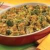 Campbell's Kitchen Broccoli and Cheese Casserole Recipe - Serve this creamy broccoli and cheese casserole as a side dish or a vegetarian main course.