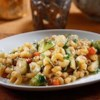 Elbows with Cauliflower and Brussels Sprouts Recipe - This healthy, comforting recipe uses PLUS multigrain pasta for added protein, fiber, and ALA Omega-3, and takes advantage of hearty wintry seasonal vegetables.