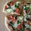 Homemade Veggie Pizza