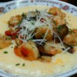 Shrimp over Cheese Grits
