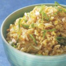 Hearty Bulgur Recipes Slideshow - Bulgur adds protein and fiber to healthy side dishes and main-course meals. Whole-grain bulgur pairs especially well with Middle Eastern and Asian flavors, such as Tabbouleh with Grilled Vegetables or Bulgur with Ginger & Orange. Bulgur is easy to prepare and a nice change from rice and pasta.