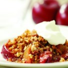 Recipes for Cancer-Fighting Fruit Slideshow - Peaches and plums are delicious in many dessert recipes and they're good for your health too. Plums and peaches contain two types of polyphenols (antioxidants) that may help kill breast cancer cells while leaving healthy cells intact, say research from Texas A&M. The researchers also found that plums and peaches have antioxidant levels to rival blueberries. Try our fresh peach recipes for peach pie, peach cobbler and peach frozen yogurt, as well as our fresh plum recipes.
