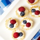Healthy Red, White and Blue Recipes Slideshow - Celebrate in patriotic style with these healthy red, white and blue recipes.