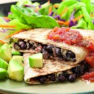 5-Ingredient Vegetarian Recipes Slideshow - For an easy weeknight meal, try one of our healthy vegetarian recipes that use 5 ingredients or less (we don't count salt, pepper, oil or water in the total). Try our Black Bean Quesadillas for a zesty Mexican vegetarian entree or our Green Pizza for a healthier dinner option than takeout.