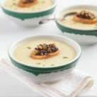Healthy Copycat Recipes for Your Favorite Creamy Soups Slideshow - Creamy usually means loaded with calories. Not these healthy creamy soup recipes! With a few healthy cooking tricks, you can have a creamy soup that's rich and comforting but way better for you. Try these healthy recipe makeovers for favorites like clam chowder, cream of mushroom soup and creamy bisque.