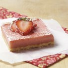 Healthy Strawberry-Rhubarb Recipes Slideshow - Strawberries and rhubarb are a match made in heaven and classic combination for pies, cakes and fruit bars. The sweetness of strawberries helps to balance and mellow the zingy tartness of rhubarb. Celebrate the spring's best combo with these delicious strawberry-rhubarb recipes.