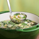 Our Best Veggie-Packed Soup Recipes Slideshow - There isn't a more delicious and satisfying way to get more veggies into your diet than a big bowl of soup. Each of these healthy soup recipes boasts at least a full 1-cup serving of vegetables per bowl. That's important because most of us don't get enough. Here are recipes that help you ladle your way to better health.