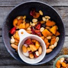 Clean-Eating Snack Ideas to Pack for Work Slideshow - Keep a container of homemade trail mix, mango-date energy bites or lemony popcorn at the ready to help squelch sneaky snack attacks at the office. What makes these snacks clean? Our clean-eating recipes are made with real, whole foods and limit processed foods and refined grains. Plus, they are lower in sodium, sugar and calories.