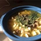 Hamburger Corn Soup