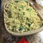 Pesto Chicken Penne Casserole