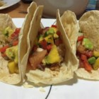 Healthy Fish Tacos with Mango Salsa