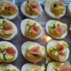 Japanese Wasabi Deviled Eggs