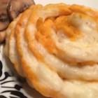White and Sweet Whipped Potatoes