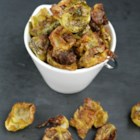 Spicy Brussels Sprout Chips