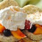 Summery Lime-Mango Shortcakes