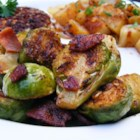 Quick Brussels and Bacon