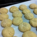 Tahini Butter Cookies