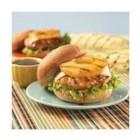 Teriyaki Pineapple Turkey Burgers