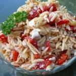 recipe: chicken florentine salad with orzo pasta [16]