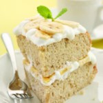 Banana Cream Layer Cake
