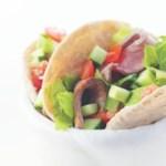 Steak Salad-Stuffed Pockets