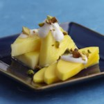 Tropical Fruits with Pistachios & Coconut