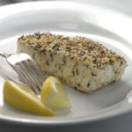 Thyme- & Sesame-Crusted Halibut