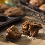 Spiced Apple Butter Bran Muffins