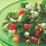 Watermelon & Goat Cheese Salad with Citrus Vinaigrette