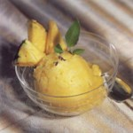Pineapple-Coconut Sorbet