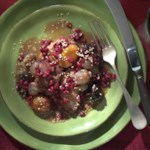 Chicken Tagine with Pomegranates
