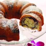 Dark Cherry Bundt Cake
