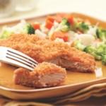Golden Baked Pork Cutlets