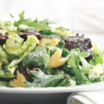 Smoked Trout Salad with Herb & Horseradish Dressing