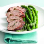 Grilled Pork Tenderloin with Aquavit Seasonings (Snapse Krydret Svine Morbrad)