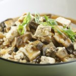 Chinese Braised Mushrooms & Tofu
