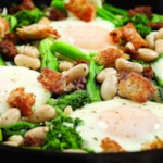 One-Skillet Bean & Broccoli Rabe Supper